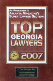 Top Georgia Lawyer Award